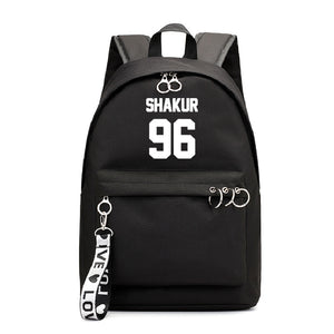 2PAC Tupac Shakur Teens Students Hip Hop Fans Backpack
