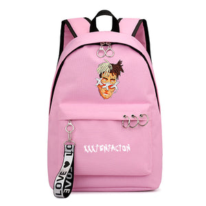 Xxxtentacion Youth Fashion Backpack Students School Bag
