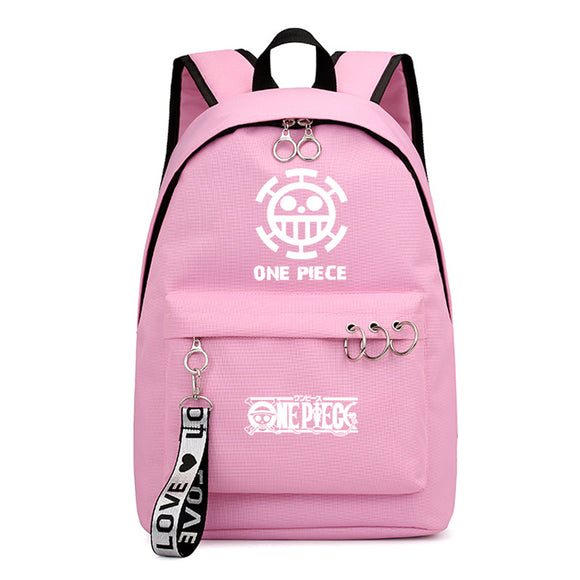 Anime ONE Piece Students Backpack Youth School Bag Bookbag For Youth