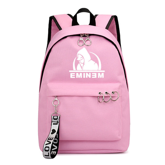Eminem Backpack High School Students Shoulder Bag