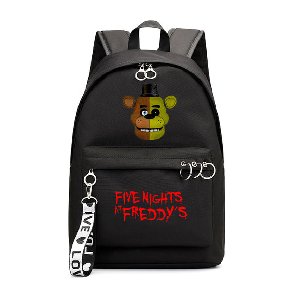 Five Nights at Freddy's School Backpack Book Bag for Kids Youth
