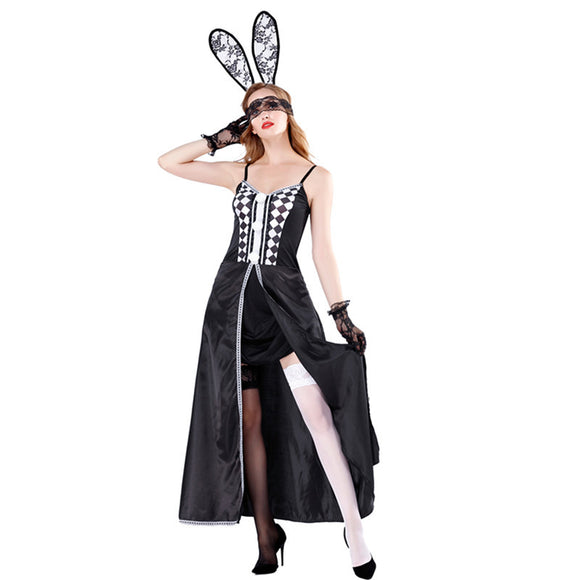 Sexy Halloween Costume Playtime Bunny Costume Ds Costume Set