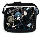 Anime Black Butler Kuroshitsuji Crossbody Bags School Canvas Bookbag