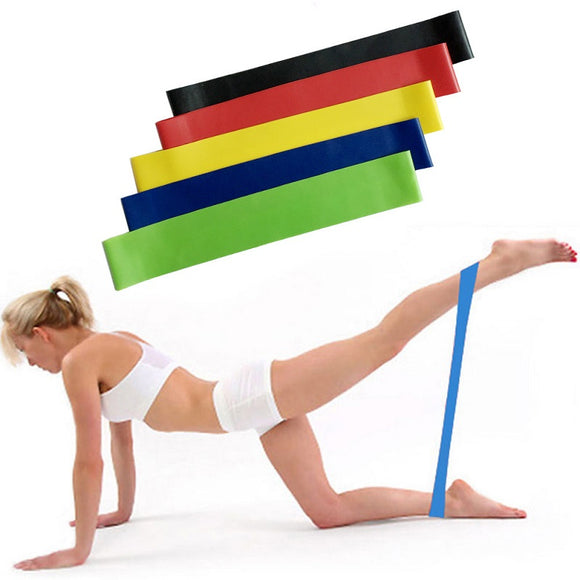 Durable Workout Fitness Exercise Therapy Bands Home Fitness Yoga Resistance Band
