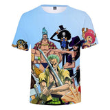 Anime One Piece Shirts 3D Print Funny Anime T Shirts