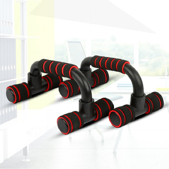 Fitness Equipment Indoor Foam Handles H-Shaped Push-Up Stand