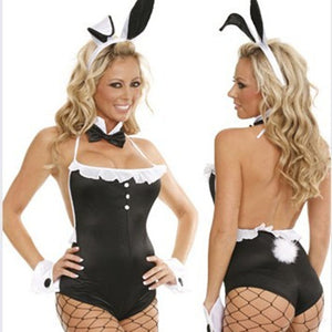 Women Halloween Bunny Costume Playtime Ds Costume Set