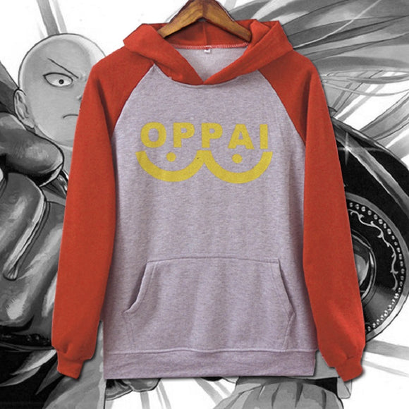 One Punch Man Saitama Hoodie Cosplay Costume
