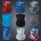 2Pcs Sleamless Face Bandana For Dust & Sun Protection