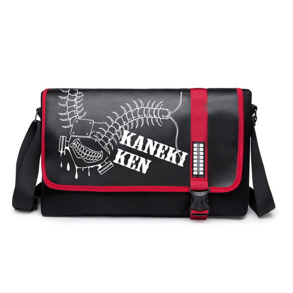 Anime Tokyo Ghoul Students  Crossbody BookBags for Boys and Girls