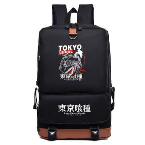 Anime Tokyo Ghoul Backpack Students Bookbag Big Capacity Rucksuck