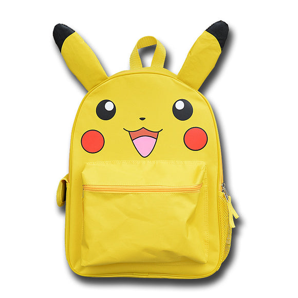 Pokemon Go Backpack Yellow Pokemon Girls Boys School Bags