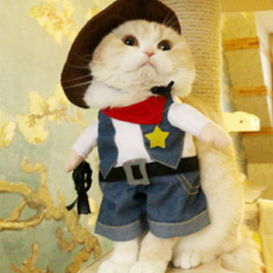 Halloween  Pet Costume Dog Cat Cow Boy Costume Outfits