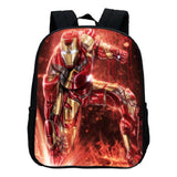 Marvel Kids School Backpack Iron Man Print Bookbags
