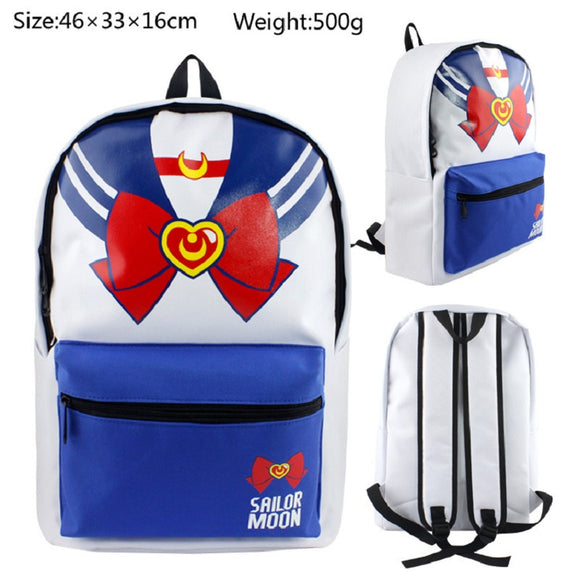 Anime Sailor Moon Teenagers Girls Backpack School Bookbag Rucksuck