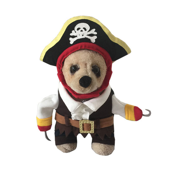 Halloween  Cat and Dog Costume Dog Cat Pirate Costume Outfits