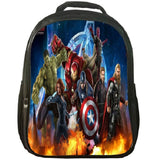 Marvel The Avengers Print Backpack School Backpack For Youth