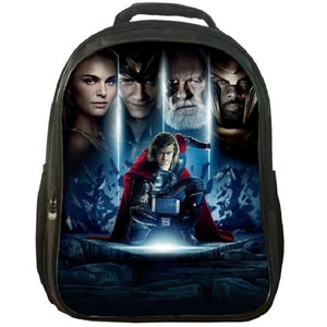 Marvel Thor Print Backpack School Backpack For Youth