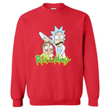 Rick and Morty Unisex Round Neck Shirt Hoodie