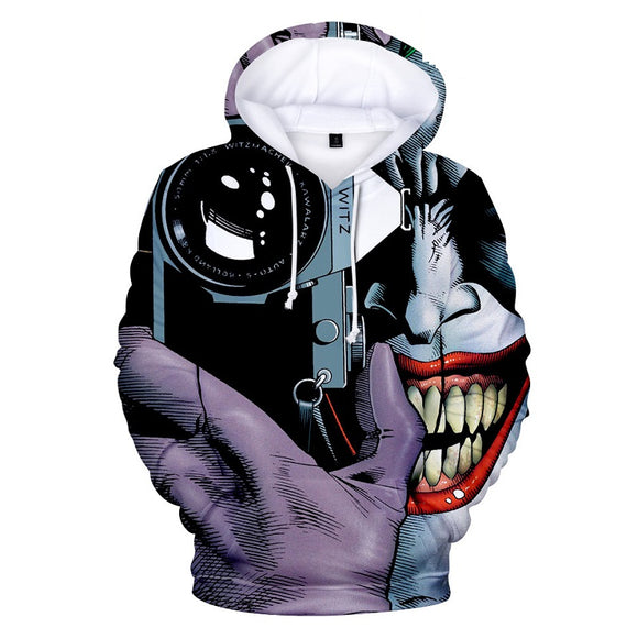 Unisex Joker Joaquin Phoenix Take Photo 3D Print Hoodie