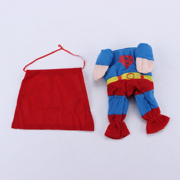 Halloween  Pet Costume Dog Cat Super Man Costume Outfits