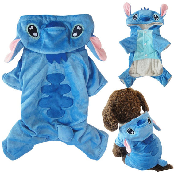 Halloween  Pet Costume Dog Cat Stitch Costume Outfits