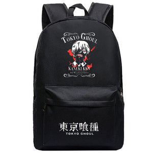 Tokyo Ghoul Backpack  Students Daypack Schoolbag Anime Rucksack for Boys And Girls