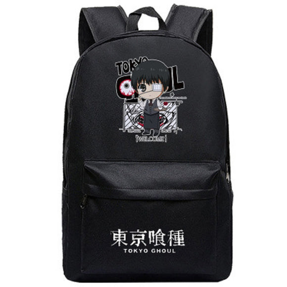 Tokyo Ghoul Backpack  Students Daypack Schoolbag Bookbags Anime Rucksack for Boys And Girls