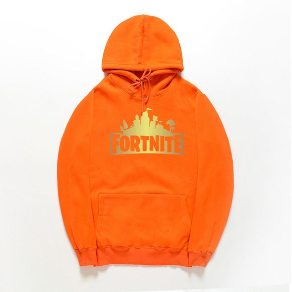 Fortnite Letter Print Pull Over Youth Hoodies