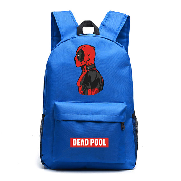 Marvel Deadpool Backpack Luminous School Backpack Bookbags For Youth