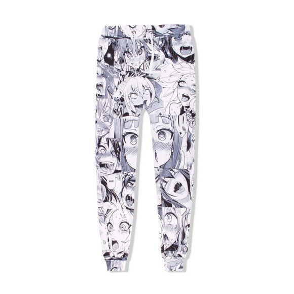 Funny Anime Ahegao Pants