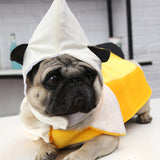 Halloween  Pet Costume Dog Cat Banana Costume Outfits