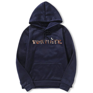 Fortnite Letter 3D  Print Hoodies