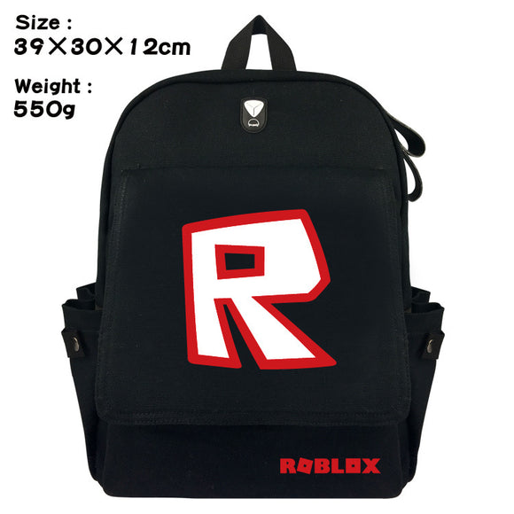 Roblox School Backpack Bookbag Youth Daybag