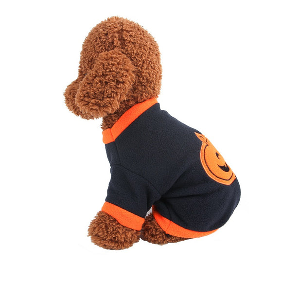 Halloween  Dog Cat  Costume  Puppy  Pumpkin Hallowe Cosplay Outfit