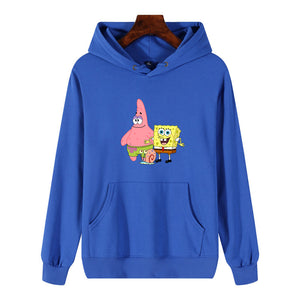 Sponge Bob & Patrick Star Hooded Hoodies