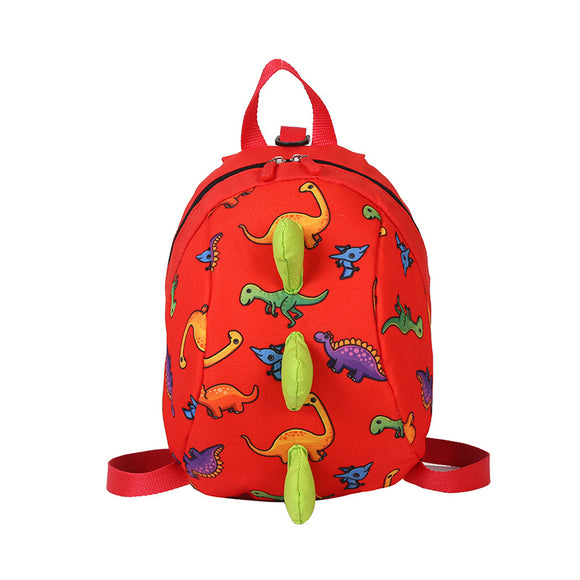 Gils Boys Preschool Cute Dino Dinosaur Backpack Book Bag 3D Dinosaur Spike Backpack