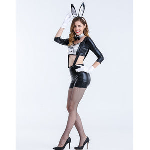 Lace Bunny Costume Sexy Halloween Costume Set