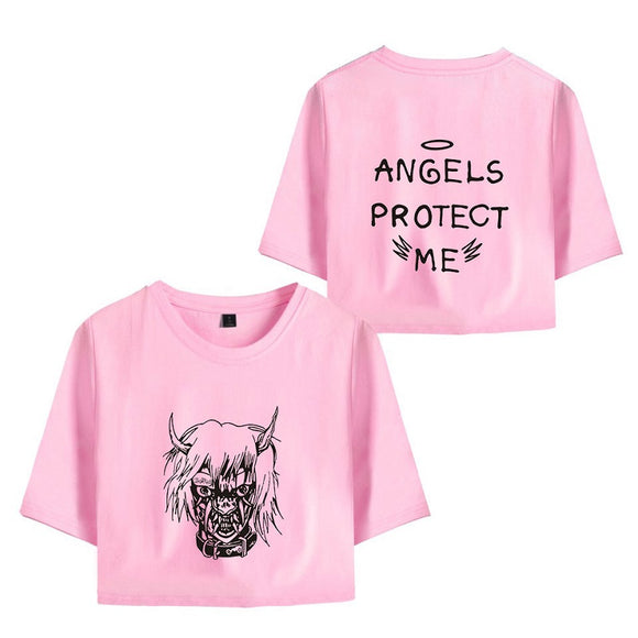 Lil Peep Crop Top Shirt