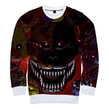 Five Nights at Freddy's Round Neck Sweatshirt for Kids Adults