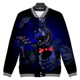 Five Nights at Freddy's Hooded Shirt for Kids Adults