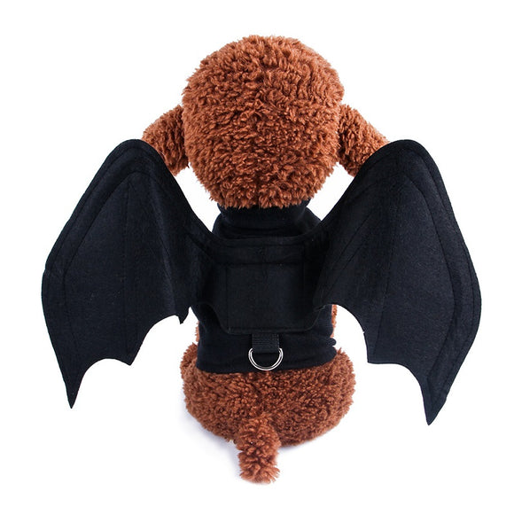 Halloween  Bat Wings Dog Costume