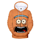 Rick And Morty 3D Print Casual Long Sleeve Hoodie For Kids