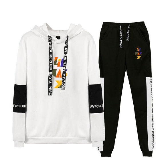 Lil Nas X 3D Print Pull Over Hoodies & Fashion Pants Two Piece Set