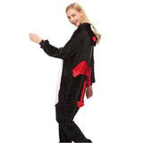 Adult Animal Onesis Pajamas Demon Kigurumi Halloween Cosplay Costume For Men&Women