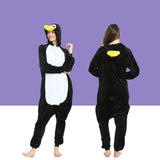Adult Animal Onesis Pajamas Penguin Kigurumi Halloween Cosplay Costume For Men&Women