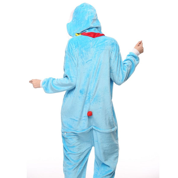 Adult Animal Onesis Pajamas Pokonyan Kigurumi Halloween Cosplay Costume For Men&Women