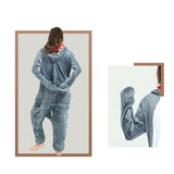 Adult Animal Onesis Pajamas Shark Kigurumi Halloween Cosplay Costume For Men&Women