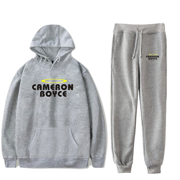 Cameron Boyce Casual Hoodie and Sweatpants Set