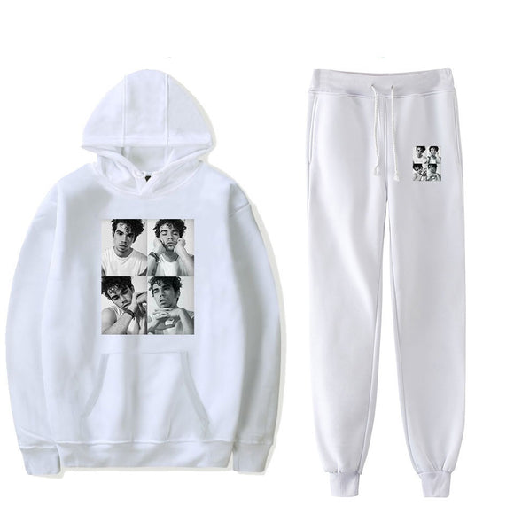Cameron Boyce Fashion Youth Hoodie and Sweatpants Suit Set